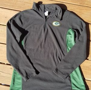 Womens NFL Packers fleece pullover